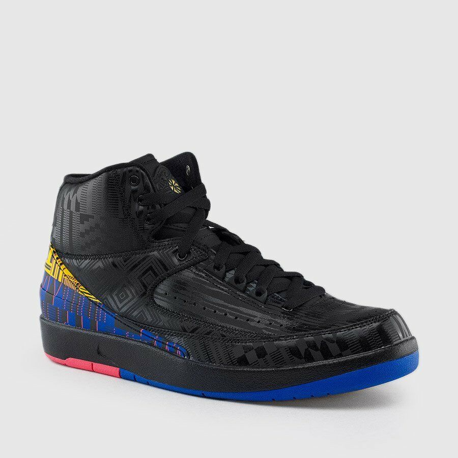 the latest 6ff67 aea91 Details about Nike Air Jordan Retro II 2 BHM Black History Month 2019  BQ7618-007 Sz 8-13 Gold