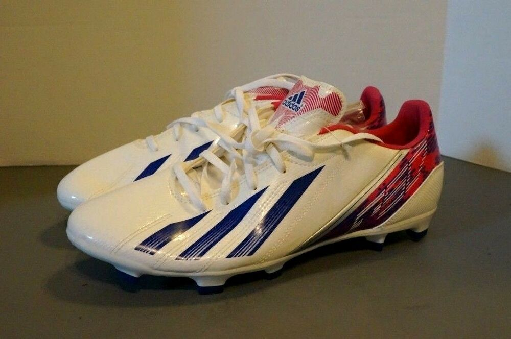 80a2f0e2c Details about Adidas WOMEN S F10 TRX FG White Heliconia Pink Size US 10 ~  G96589