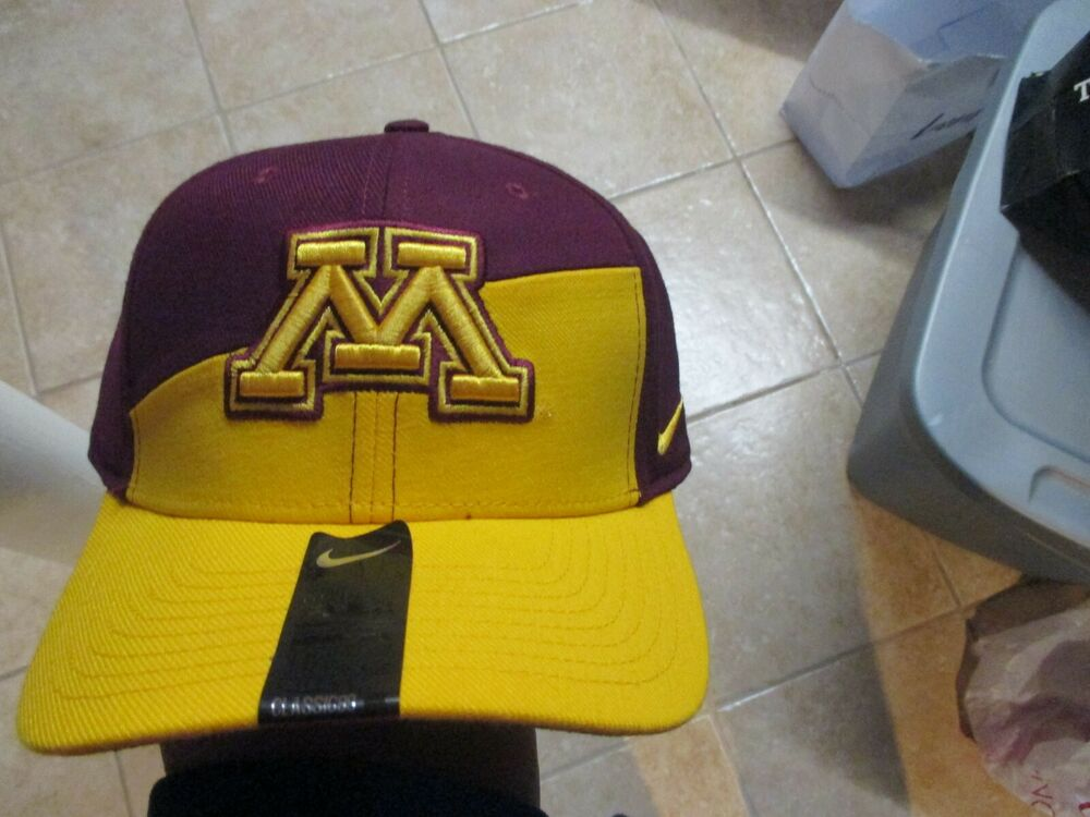 promo code 815eb a079e ... netherlands details about nike minnesota golden gophers classic 99 flex  fit hat m l nwt 28 2