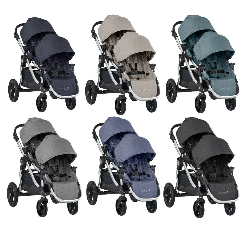 2019 Baby Jogger City Select Double Stroller Ebay