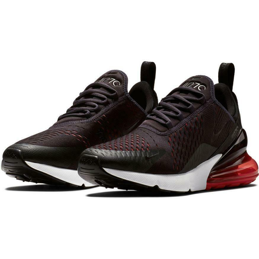9b0099ced1512 Details about Nike Air Max 270 Men's Oil Grey Habanero Red Sizes 8-13  AH8050 013 NEW