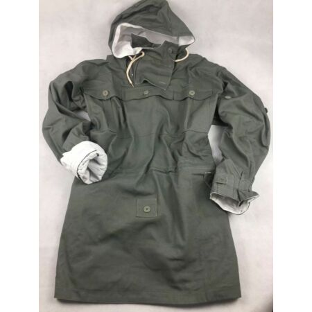 img-WWII GERMAN MOUSE GREY AND WHITE REVERSIBLE MOUNTAIN ANORAK SMOCK COAT SIZE S