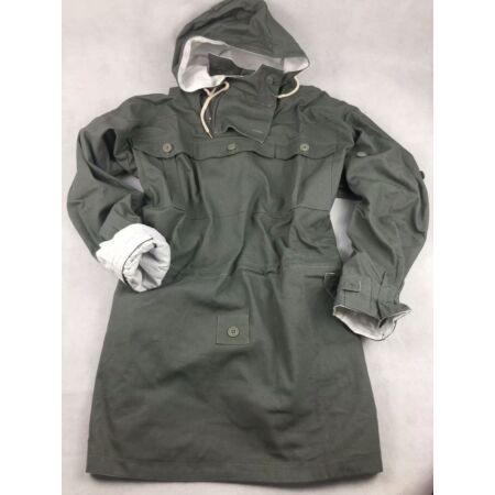 img-WWII GERMAN MOUSE GREY AND WHITE REVERSIBLE MOUNTAIN ANORAK SMOCK COAT SIZE L