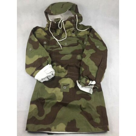img-WWII GERMAN ARMY ELITE ITALIAN CAMO REVERSIBLE MOUNTAIN ANORAK SMOCK SIZE S