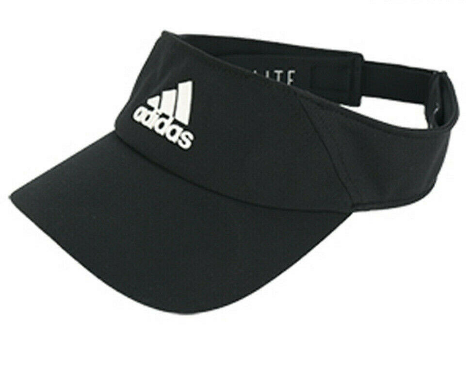 Details about Adidas Hat Training Climalite Running Visor Cap Fashion Logo  Black New DT8536 acce1f6c7f6