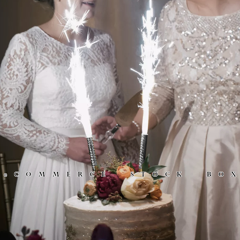 Details About 8x Sparklers Candle Wedding Birthday Anniversary Sparkle Party Favors Fancy Fun
