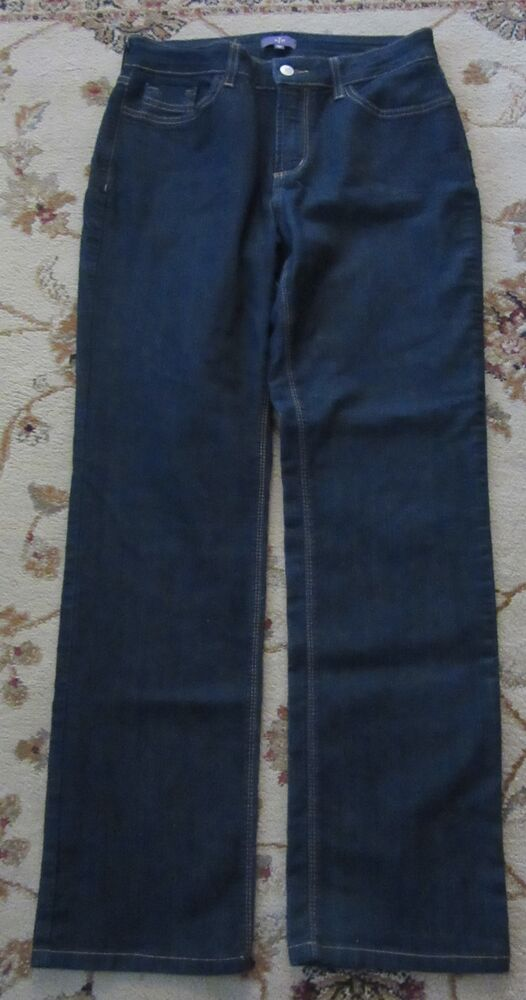 2f96580aeb1 Details about NYDJ NOT YOUR DAUGHTERS LIFT TUCK STRAIGHT LEG JEANS SIZE 8P