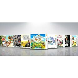 Kyпить Replacement Nintendo 3DS Titles F-L Covers and Cases. NO GAMES!  на еВаy.соm