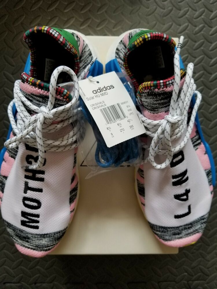 5f17585a6 Details about Adidas BB9531 Human Race NMD HU Pharrell Solar Pink Black US  9 NEW 100% Authen