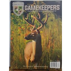 Gamekeepers Farming For Wildlife hunting deer Summer 2018 FREE SHIPPING CB