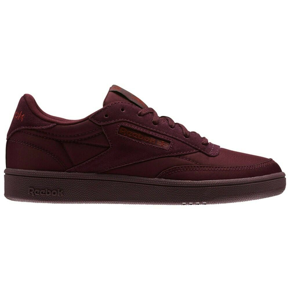 8040774bf9a Details about Reebok Classics Club C 85 Soft (Dark Red Rust Metallic)  Women s Shoes