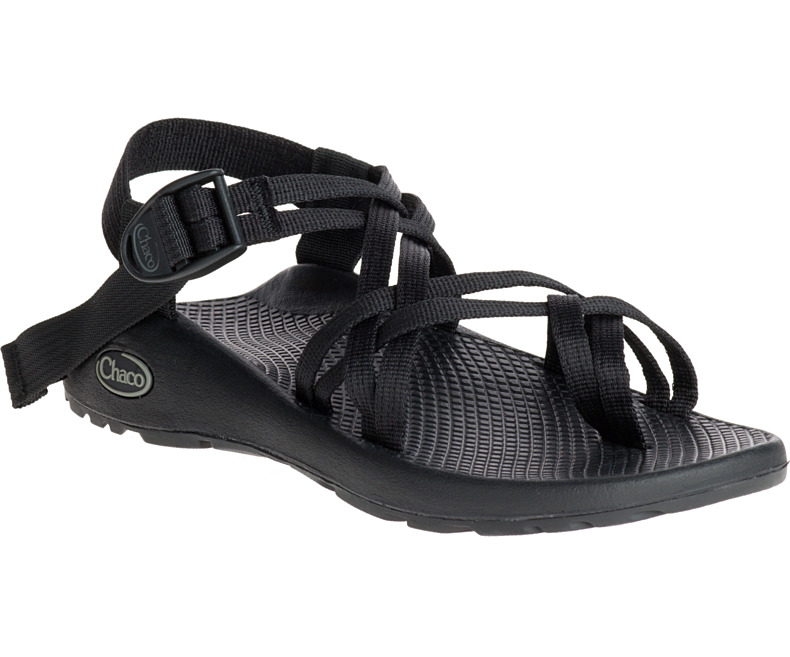 836a46b52b73 Details about Chaco Womens ZX 2 CLASSIC - BLACK (J105492) Medium Wide