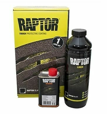 VERNICE U-POL RAPTOR NERA IN KIT 1LT