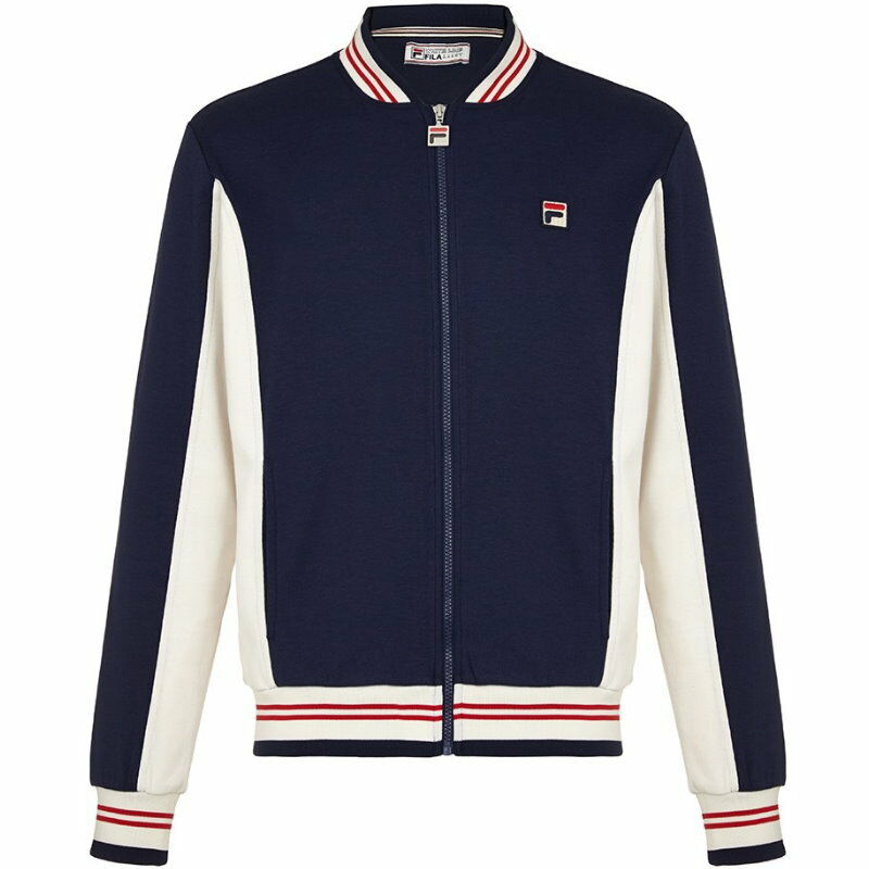 a688323f851e Details about Fila Vintage Settanta MK1 Track Top - Peacoat