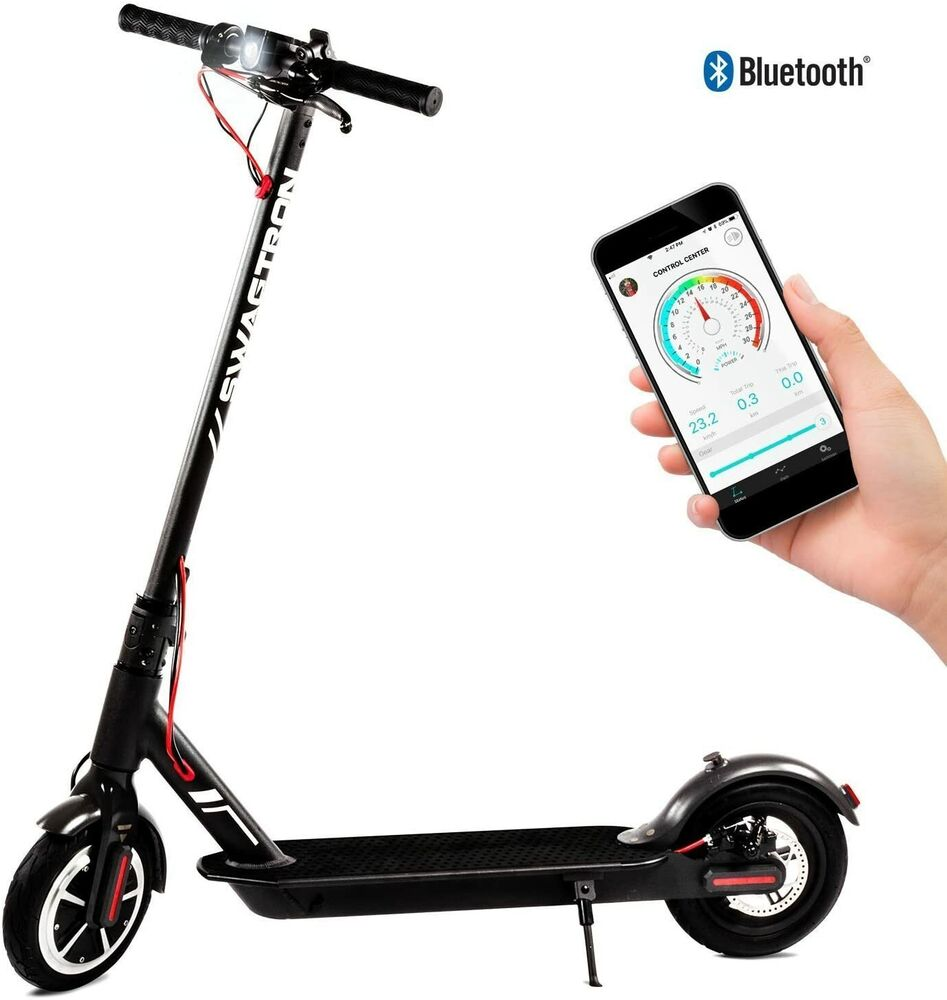 Scooter Turbo Friends: Swagtron Swagger 5 City Commuter Foldable Electric Scooter