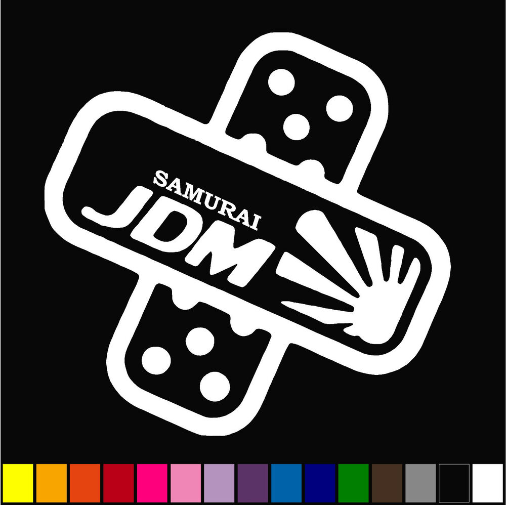 Details about jdm band aid decal vinyl bandage cover dents dings funny sticker decal drift car