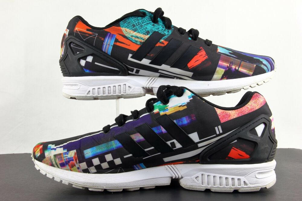 cada09f4b Details about Adidas Men s Torsion Shoe Size 10.5 ZX FLUX Abstract Trainers