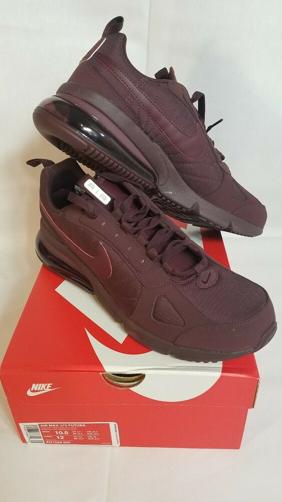 buy online ba2ff 22356 Details about NIKE AIR MAX 270 FUTURA AO1569 600 BURGUNDY CRUSH - RIPSTOP  NYLON mens size 10.5