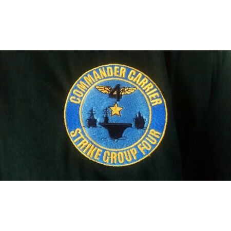 img-US NAVY CARRIER STRIKE GROUP FOUR POLO SHIRT