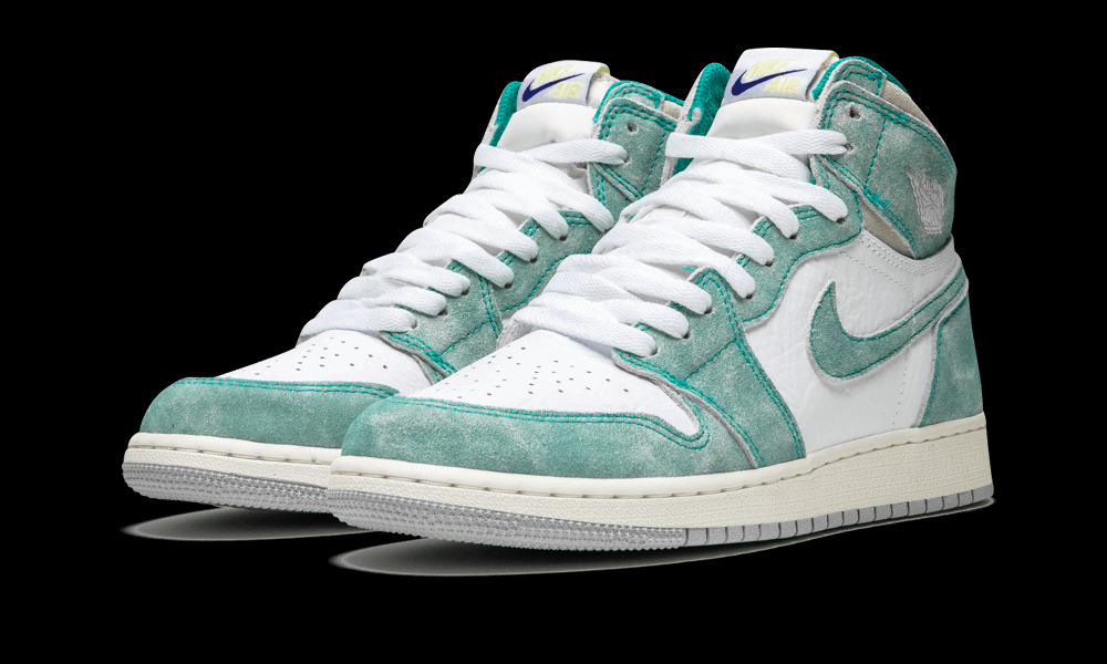 285ce3833578 Details about Air Jordan 1 Retro High OG GS Turbo Green Sizes 3.5Y-7Y  575441 311 w Receipt