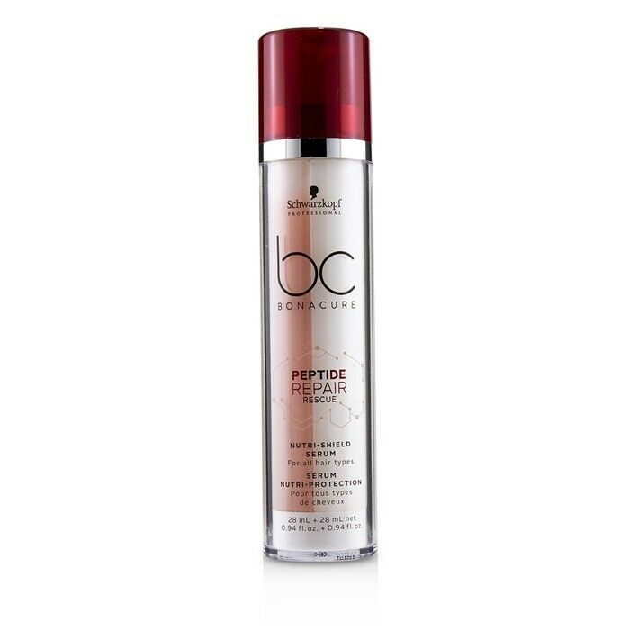 5ecb00aefb Details about NEW Schwarzkopf BC Bonacure Peptide Repair Rescue Nutri-Shield  Serum (For All