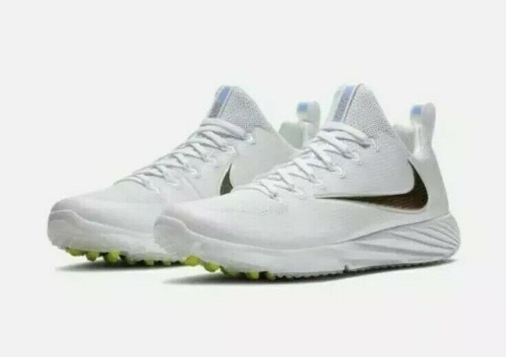 new styles 59f7e a03fc Details about Nike Vapor Speed Turf Trainer Superbowl LII White 833408-112  Men's 10 Shoes Turf