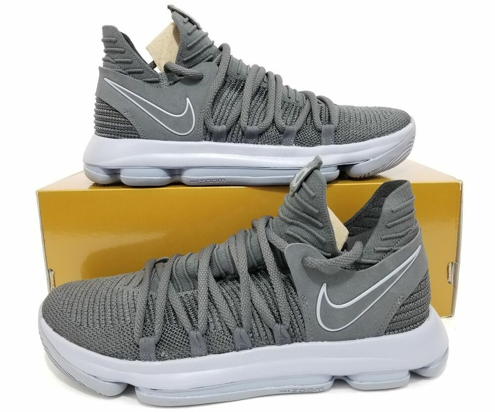reputable site 7eaaa 23316 NIKE ZOOM KD10 Triple Dark Grey Reflect Silver 897815-005 Durant MEN 10.5  Shoes 884726244401   eBay