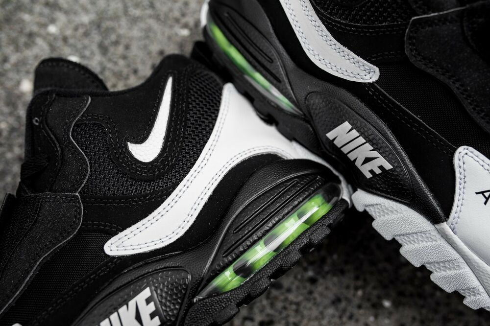 best website a6512 30c9d Details about Nike Air Max Speed Turf Black White Voltage Green Yellow  525225-011 Men 8 Shoes
