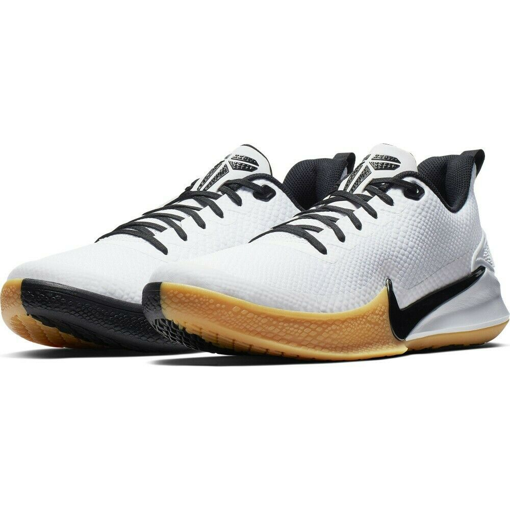 4dba21915978 Details about Men s Nike Kobe Mamba Focus White Gum Light Brown Black Size  8-13 NIB AJ5899-100
