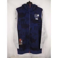 North Face Men's RU/14 USA Slopestyle Pipe Co Hoodie  LG. NWT'S  MSRP $500.00