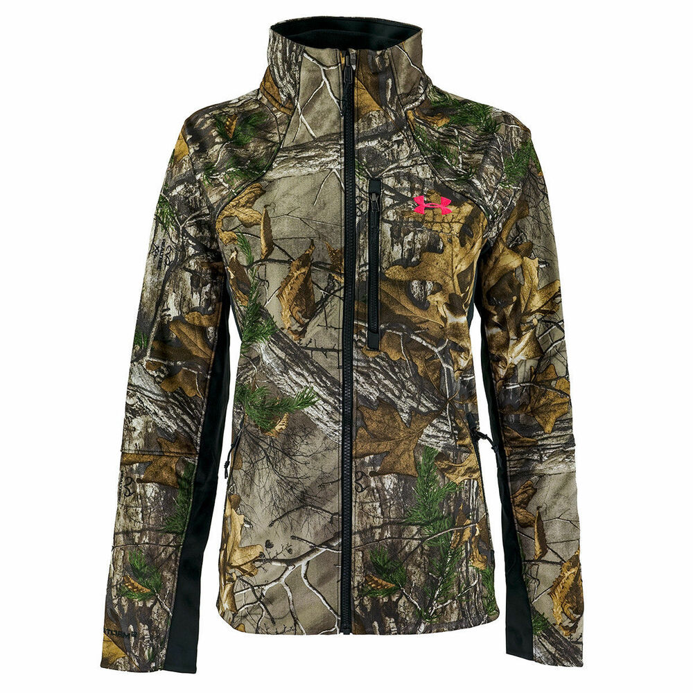 7544a2dc88af8 Details about Under Armour UA Women's Chase Hunting Jacket RealtreeXtra  1282693-946 MD $199.99