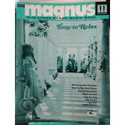 Kyпить Magnus 12-16 Chord Organ Music book #306 Time to Relax на еВаy.соm