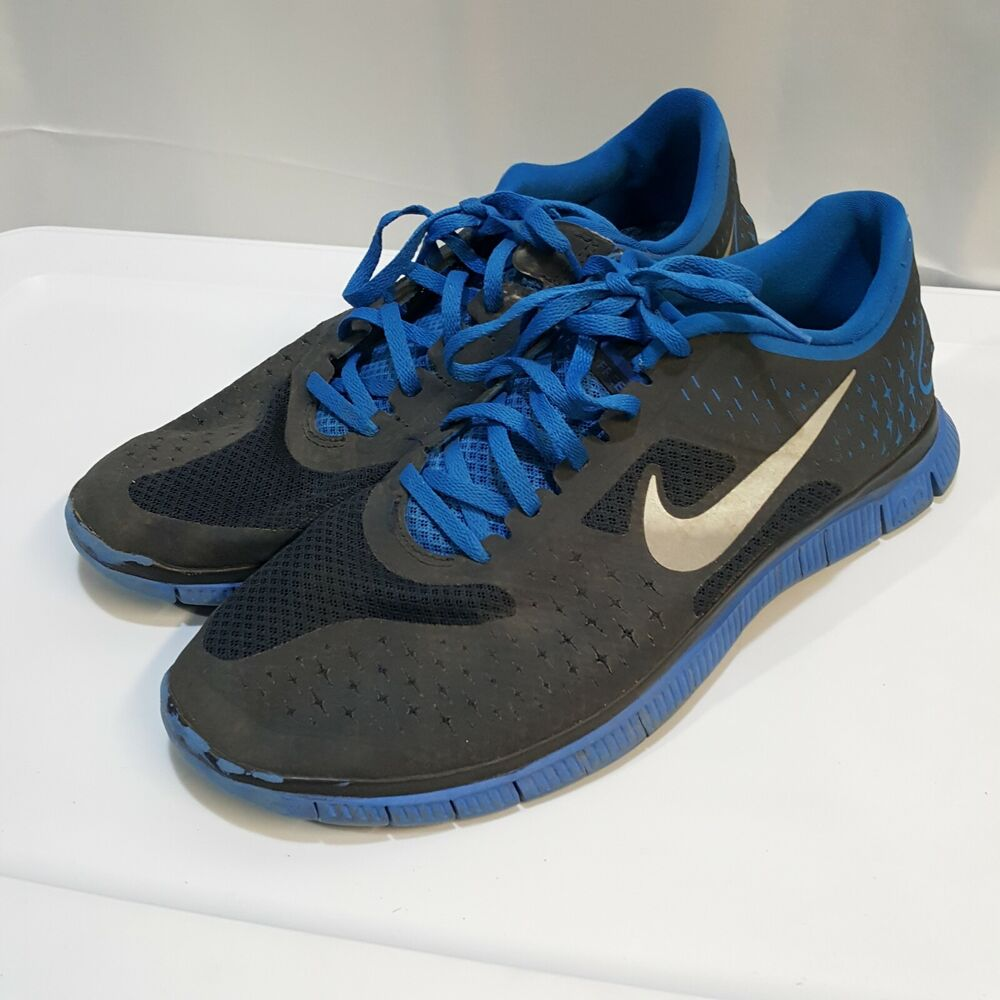 wholesale dealer df0b2 9feff Details about Nike Free 4.0 V2 Blue Running Shoes Training Sneakers Men s  Size 9.5, 511472-630