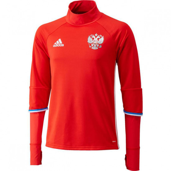 a3da9497d Details about Adidas Russia Top Red XL~Football Rashguard Long Sleeve T  Shirt Jersey RFU Large