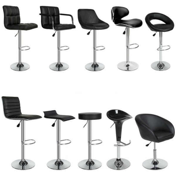 2x Sgabelli da bar moderni lounge set da sgabello design sedia regolabile
