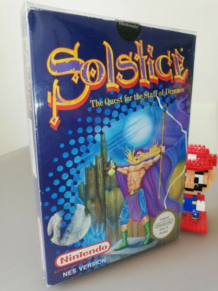 Solstice Nintendo Nes Pal A Ukv complete very good conditions