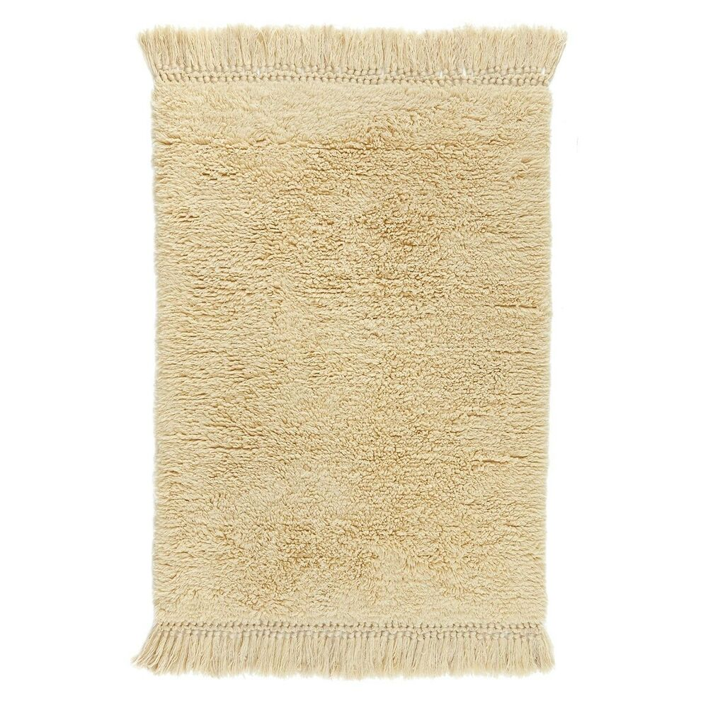 RugsBeyond Beni Ourain Rug, Ivory, Moroccan, Berber Shag
