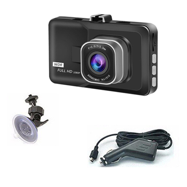 Telecamera Auto Full HD 1080 DVR Video Recorder Dash Cam DVR CAR VIDEO CAMERA VI