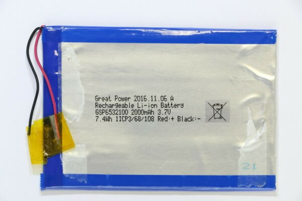 Selecline MW7526L 871023 Battery Pack GSP6532100 Replacement Part