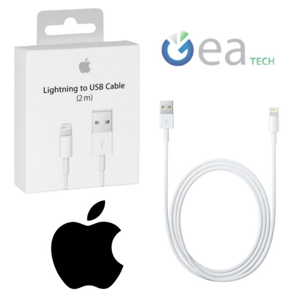 APPLE Cavo Lightning 2mt MD819ZM/A ORIGINALE in BLISTER Per iPhone 5S 6 6S 7 8 X