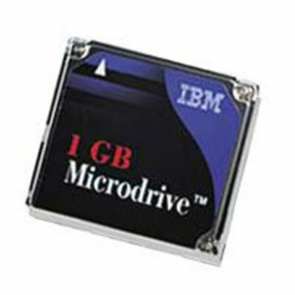 IBM MD1GB/A BY Hitachi CF Microdrive Hard Drive 1 GB Removable 3600 RPM (pp)