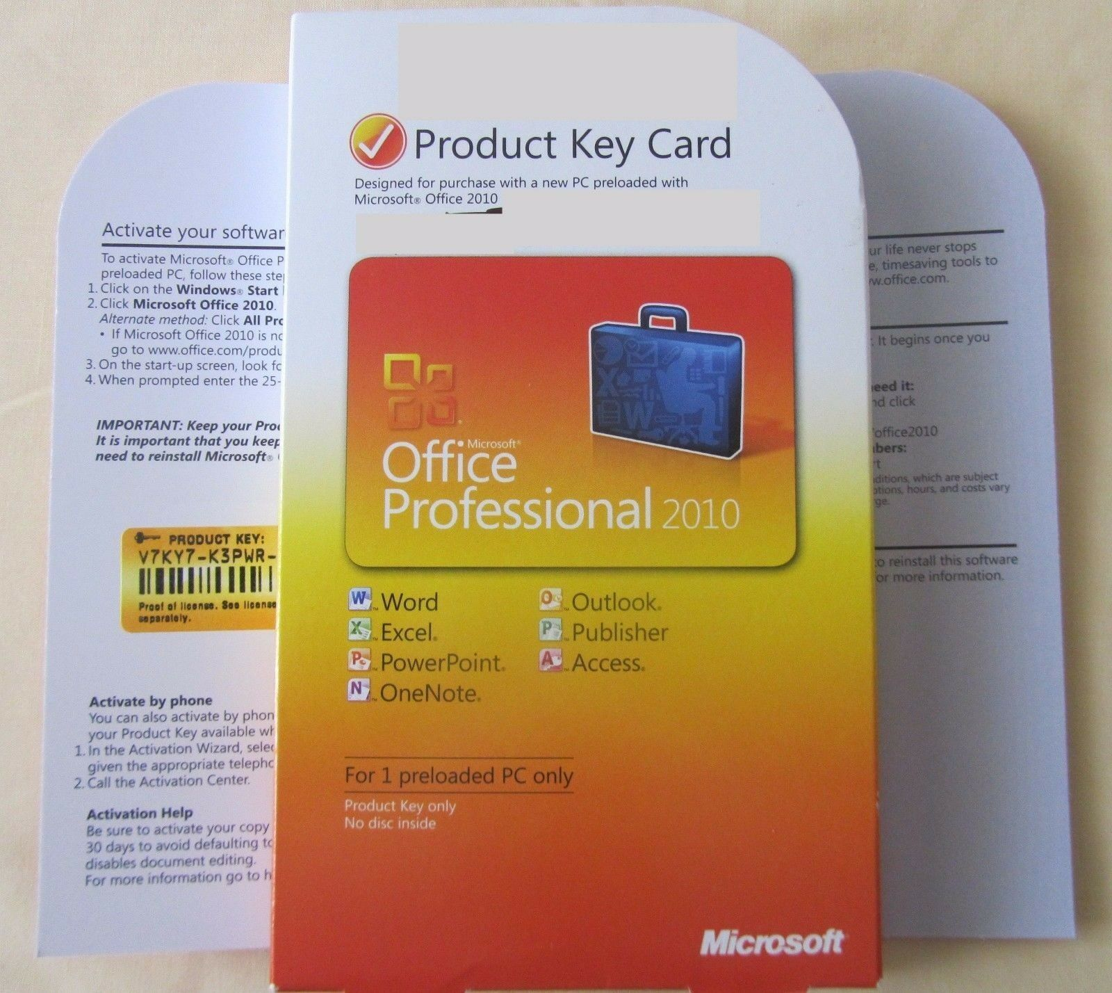 UPC 885370037807 - Microsoft 269-14834 Office Professional 2010 for