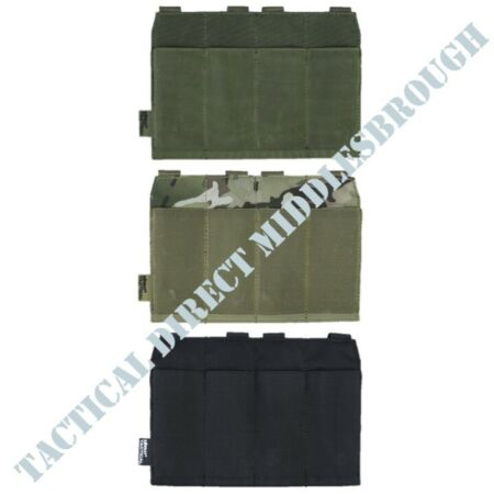 img-TACTICAL GUARDIAN SMG x4 MAG POUCH HOLDERS GUN MAGAZINE HOLDER AIRSOFT WEBBING