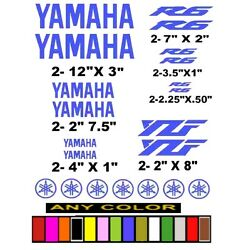 YAMAHA R6 YZF STICKERS DECALS motorcycle atv *ANY COLOR AVAILABLE*