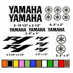 YAMAHA R1 STICKERS  DECALS GRAPHICS MOTORCYCLE RACE RACING ''CHOOSE YOUR COLOR''