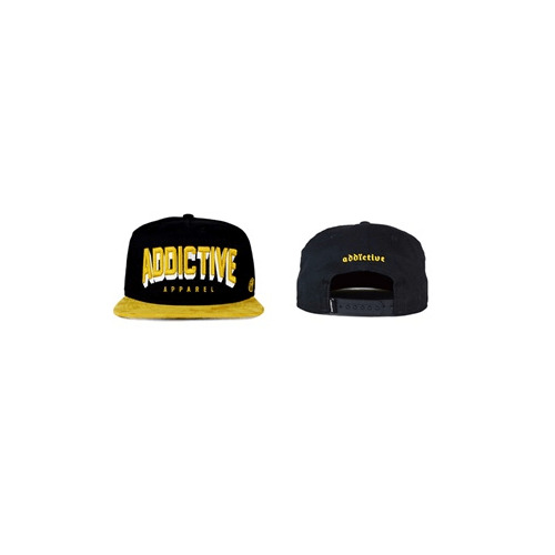 Addictive Clothing Snapback Cappello 'Camoscio' - Alternativa Tatuaggio Clothing