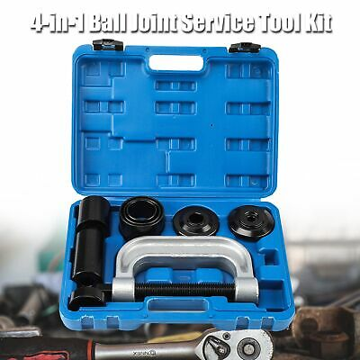 4-in-1 Ball Joint Service Auto Tool Kit with 4-wheel Drive Adapters 4WD Vehicle