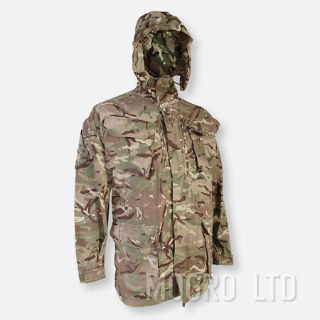img-Genuine British Army Windproof Combat Smock PCS MKII Jacket Coat MTP Camo