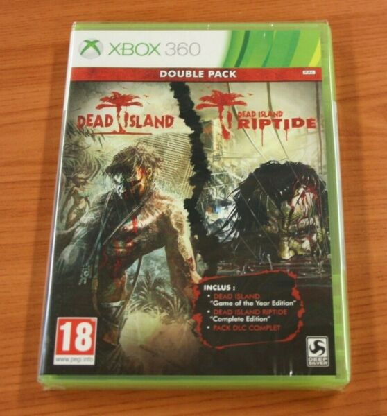Combrailles,Francexbox 360  DEAD ISLAND Double Pack       vf  neuf blister