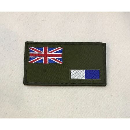 img-Royal Signals Zap Number & Blood Group Badge, R Sigs Corp, Army Patch, Hook Loop